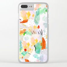 toto: abstract painting Clear iPhone Case