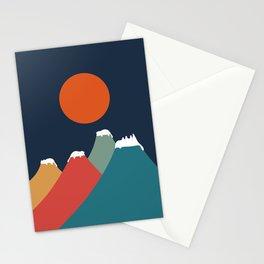 Cat Landscape 10 Stationery Cards
