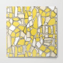 BROKEN POP lemon Metal Print