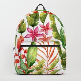 Tropical Leaves 7 Backpack
