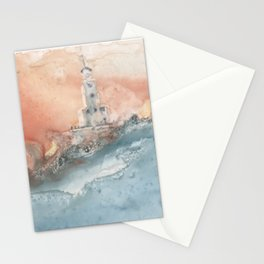 Storm at North Manitou Island Shoal Stationery Cards