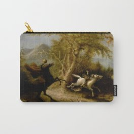 John Quidor Legend of Sleepy Hollow Headless Horseman Pursuing Ichabod Crane 1858 Carry-All Pouch