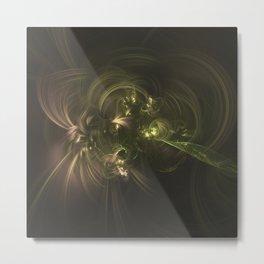 Geometric Cosmic Light 131 Metal Print