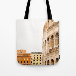 Colosseum - Rome Italy Architecture, Travel Photography Tote Bag