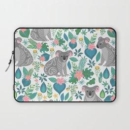 Floral Koala Laptop Sleeve