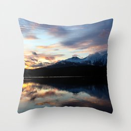 Dreamy Jasper Sunset Throw Pillow