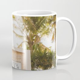Beautiful Morning for South Beach Coffee Mug