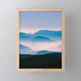 Pale Morning Light Framed Mini Art Print