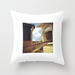 Hammock Days Throw Pillow