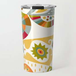 Bohemian buff Travel Mug