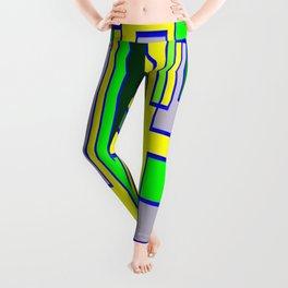 Yellow green 6767 Leggings