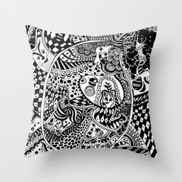 Dream 02 Throw Pillow