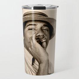 Young Obama Cool Travel Mug