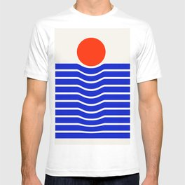 Going down-modern abstract T-shirt