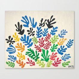 Leaf Cutouts by Henri Matisse (1953) Canvas Print