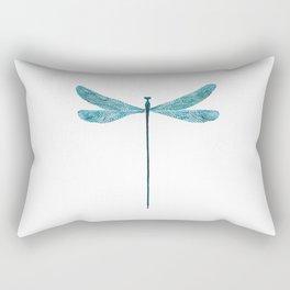 Dragonfly, watercolor Rectangular Pillow