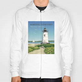Martha's Vineyard Edgartown Lighthouse Hoody