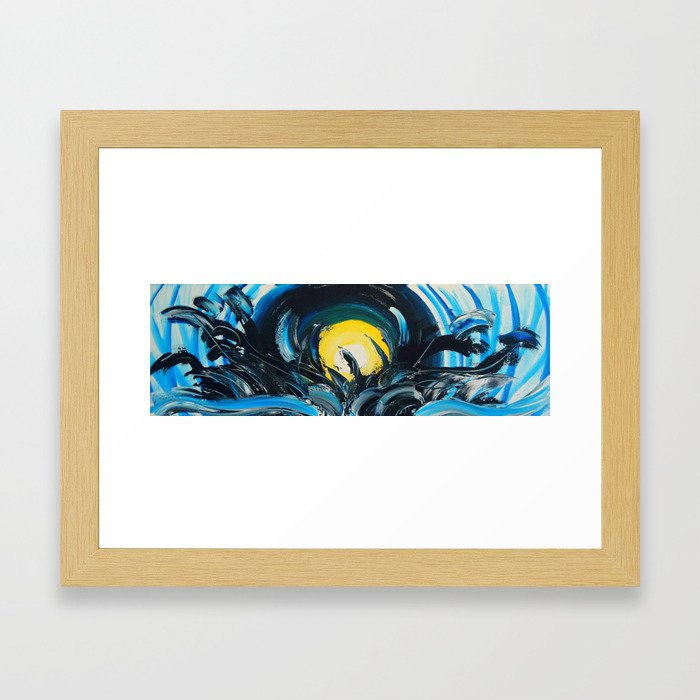 Drop of Sunshine Framed Art Print