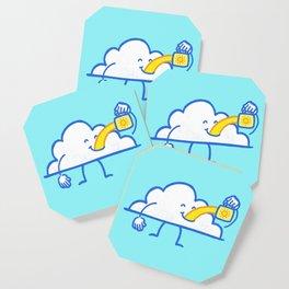 The Coffee Cloud Coaster