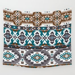 Modern Native American Pattern 5 Wall Tapestry