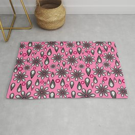 Petals, tears and... flowers Rug