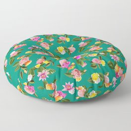 Frida Floral Floor Pillow