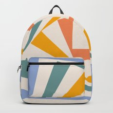 Spinning Squares Palette III Backpack