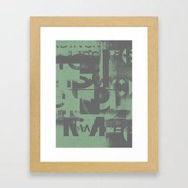 Typefart 002 Framed Art Print