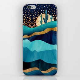 Indigo Desert Night iPhone Skin