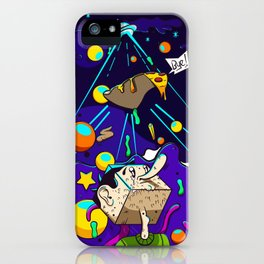 Bye Pizza iPhone Case