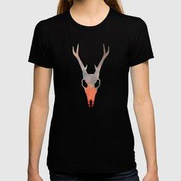 Water Paint Skulls T-shirt