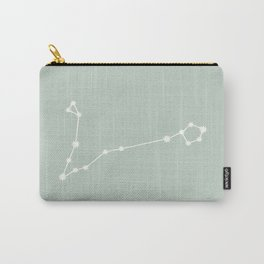 Pisces Zodiac Constellation - Sage Carry-All Pouch
