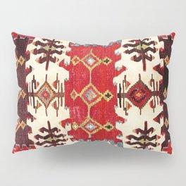 Burdur  Antique South West Anatolia Turkish Kilim Print Pillow Sham