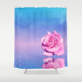 don't be lonely Shower Curtain