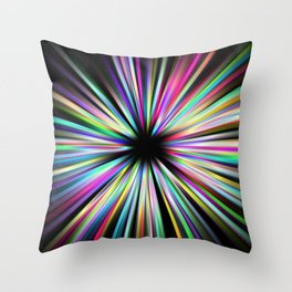 Zoompainting 3 Throw Pillow