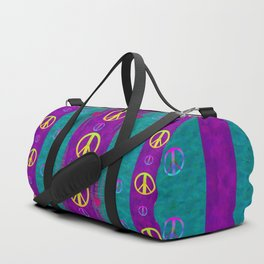 Peace be with us in this wonderful year in true love Duffle Bag