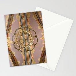 Matthias Church ceiling Stationery Cards