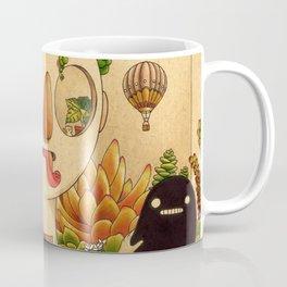 Succulent Man Kaffeebecher