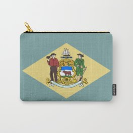 Delaware Flag Carry-All Pouch