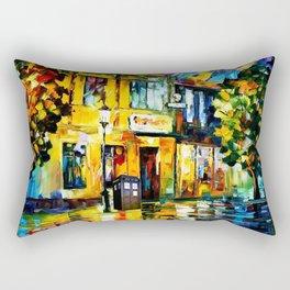 Tardis Art Tree Starry Night Rectangular Pillow