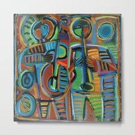 Jazzmen 2 Metal Print