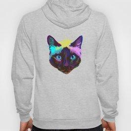 Splash Siamese Cat Hoody