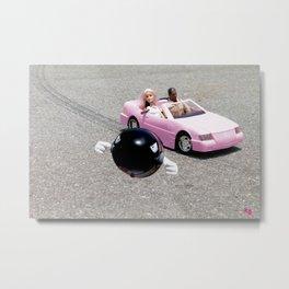 Drive By Metal Print