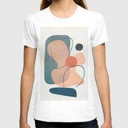Minimal Abstract Shapes No.44 T-shirt
