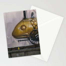 Steamed Fish Stationery Cards