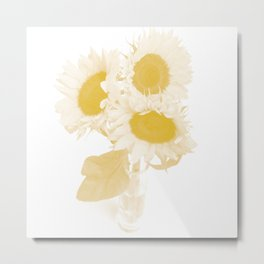 Flower Tournesol Metal Print