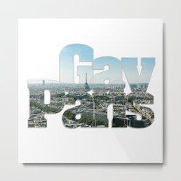 Gay Paris Metal Print