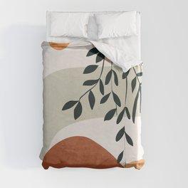 Soft Shapes I Duvet Cover