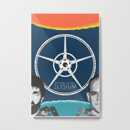 Elysium: Heaven and Earth. Metal Print