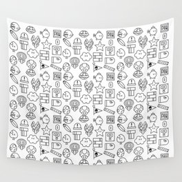 Super Mario PAttern Wall Tapestry